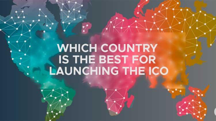 Mejores países para lanzar una ICO